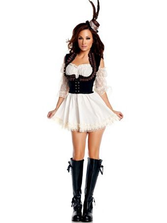 Steampunk Lady Costume | Wholesale Steampunk Halloween Costumes ...