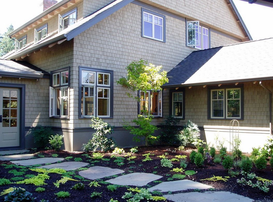 Exterior paint color ideas with black trim - Find This Pin And More On Decor