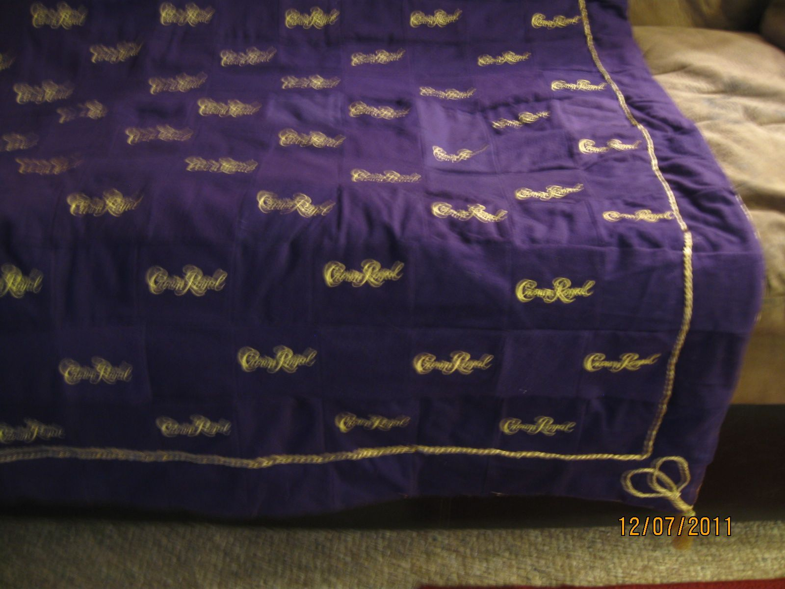 quilt made out of crown royal bags | Posted by lindsey kokkeler at ... : crown royal quilt pictures - Adamdwight.com