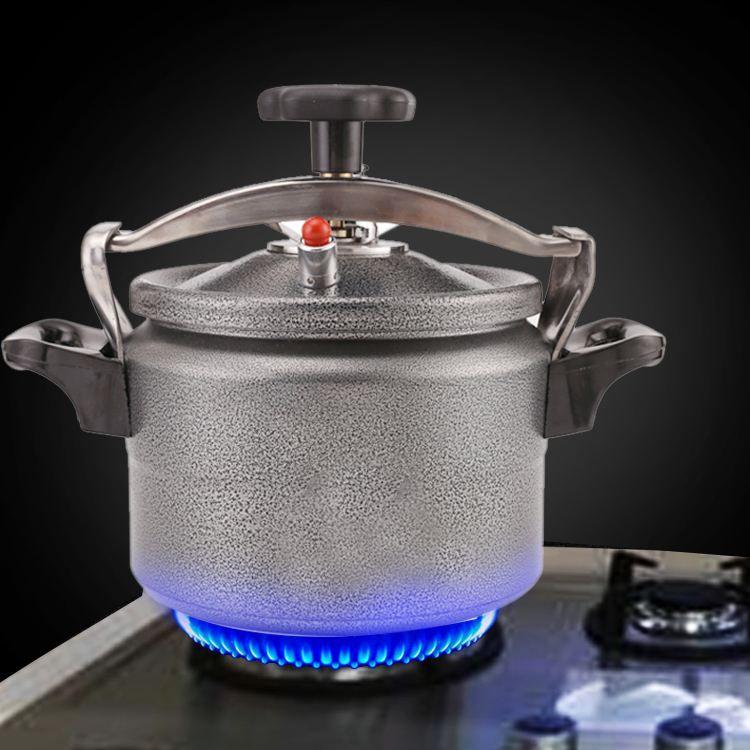 بسعة 3 لتر قدر الضغط المقاوم للانفجار من الألومنيوم اداة الطبخ لطهي الأرز للسفر والرحلات 3l Aluminum Explosion Proof Pressure C Cooker Pressure Cookers Cooking