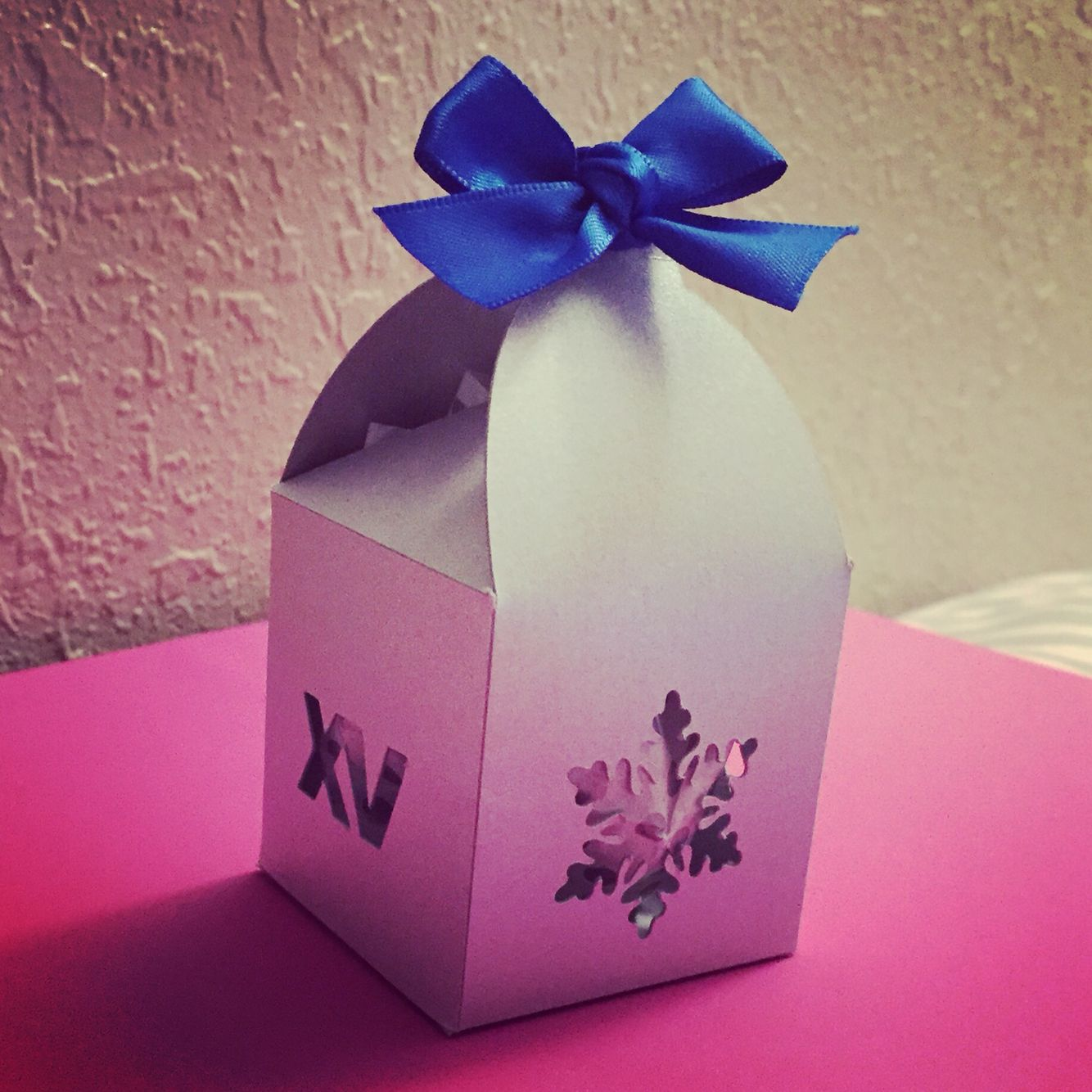Winter wonderland favor box | Favors, invitations and more ...