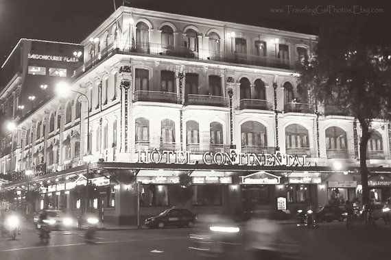 Travel Photography Hotel Continental Saigon Ho Chi Minh Vietnam
