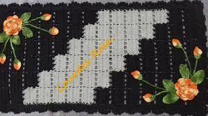 Resultado de imagem para tapetes de croche com barbante pintados