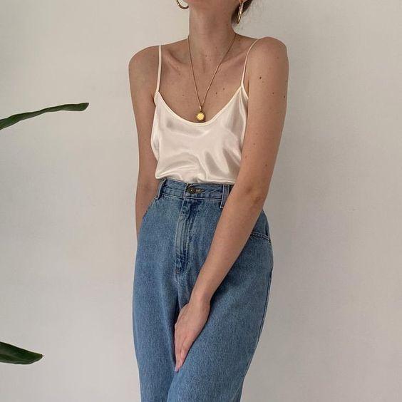 13 looks d'été avec un jean   – Looks e Tendências ♡
