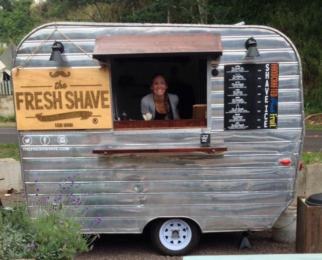 Vintage Food Trailer Business For Sale In Kauai