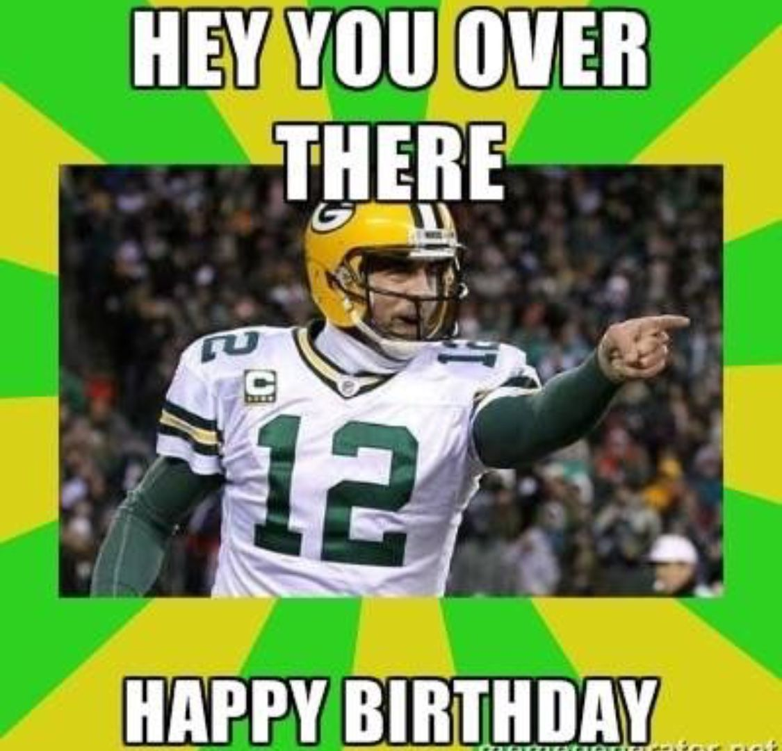 Pin By Patty Raasch On Birthday Pictures Green Bay Packers Birthday Packers Funny Happy Birthday