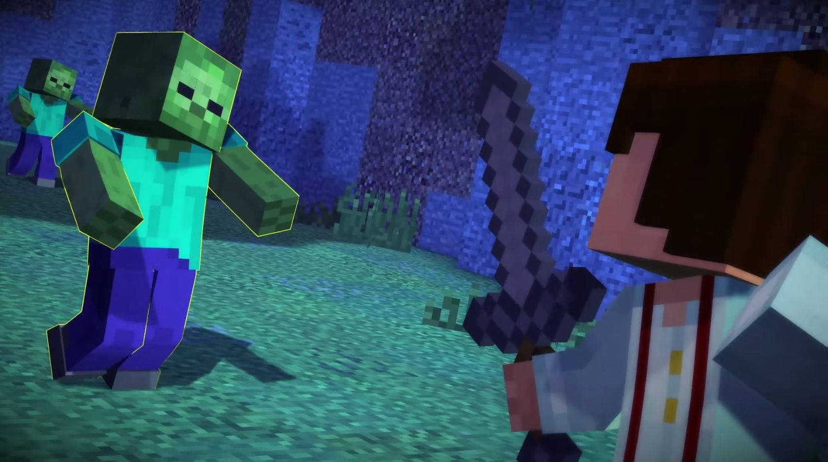 Download Minecraft: Story Mode Full Version - A 5 episode adventure game  series set in