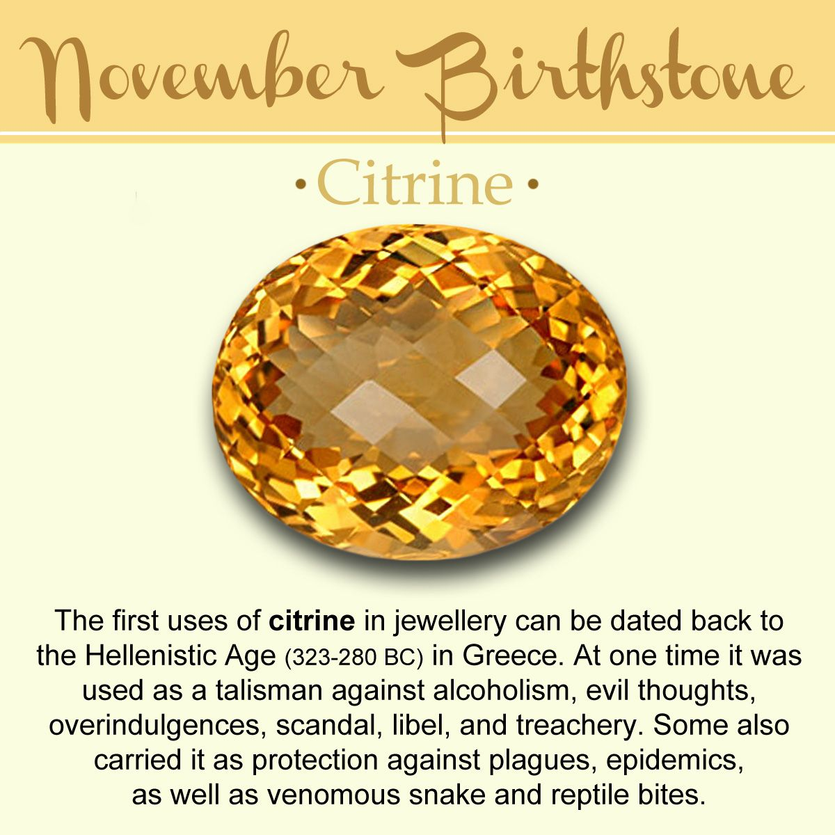 november birthstone history meaning lore