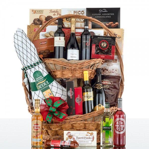 Cesta marina cestas de navidad vinoteca regalos de - Cestas navidad alcampo ...