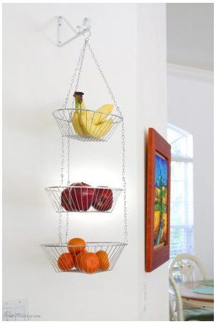 15 Genius DIY Fruit and Vegetable Storage Ideas for Tiny Kitchens - Image 11 of 19 #kitchenstorageideas #smallkitchenstorage 15 Genius DIY Fruit and Vegetable Storage Ideas for Tiny Kitchens Here are a few fruit and vegetable storage ideas for small kitchens that you can't afford to miss. These ideas will inspire you to DIY or find creative storage ideas using items that you already have in your home. If you are ready to check out these incredible fruit and vegetable storage hacks, keep scroll