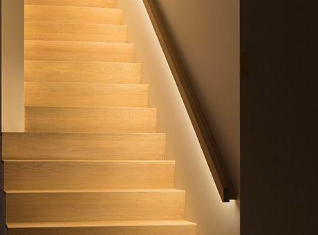 Decotrap - Trapleuning met LED verlichting 3 | Schody | Pinterest ...
