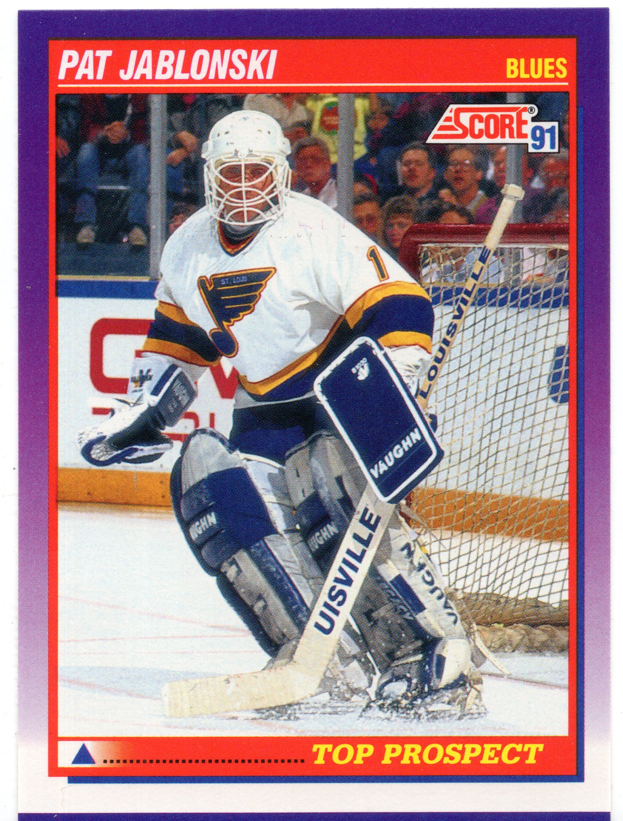 For Sale 1991 92 Score American Blues Hockey Card 329 Pat Jablonski Rookie Ho150 Webstore In 2020 Hockey Cards Blues Hockey