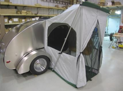 Camp Inn Teardrop Trailer Side Tent