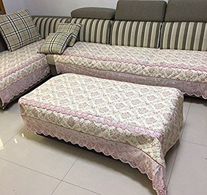 it Soft Brush Microfiber Quilted Sectional Deep Seats Sofa