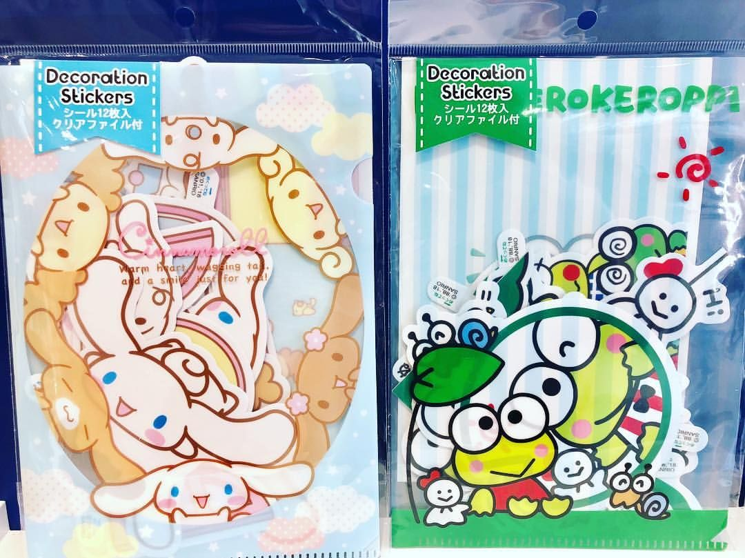 Sanrio original cinnamon rolls and kerosine decoration stickers