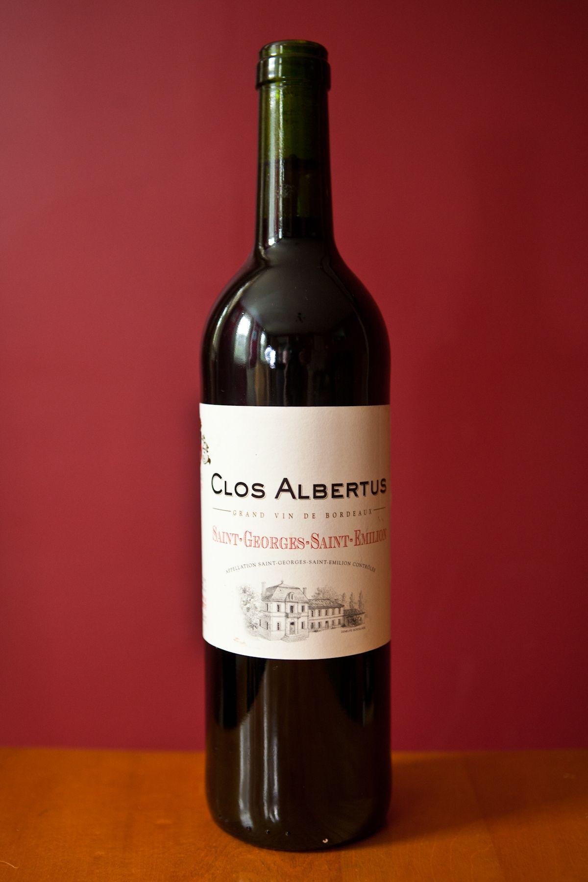 Clos Albertus Organic Wine Wines Wine Bottle