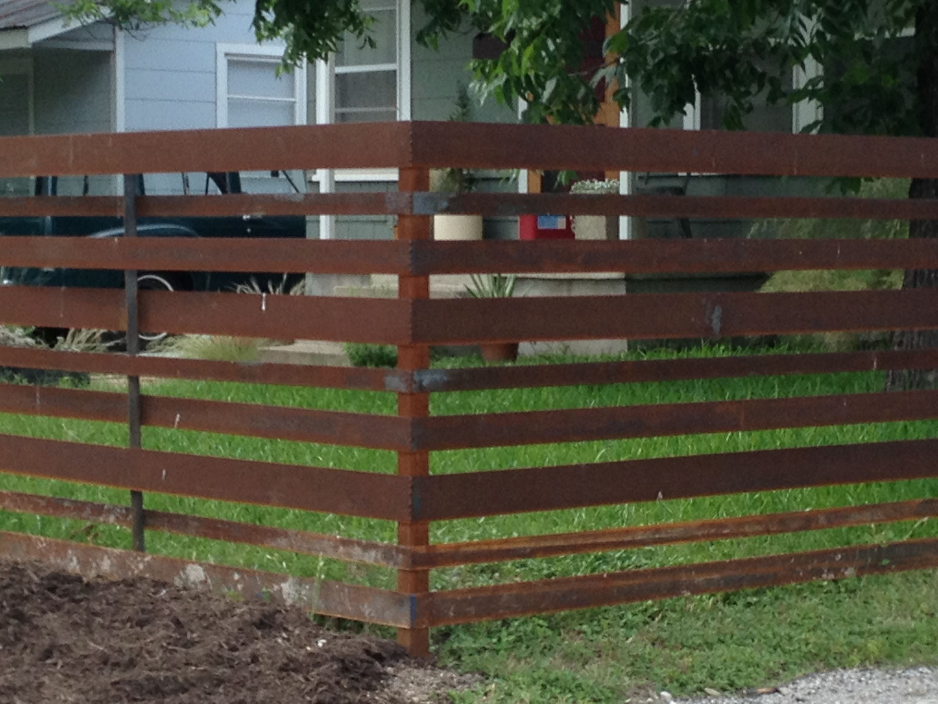 Mid Century Modern Fence Modern Fence Patio Fence