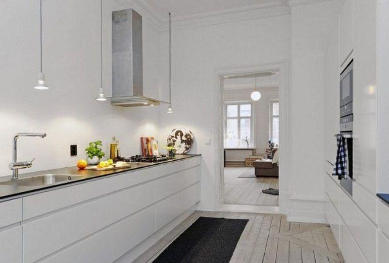 Cocina escandinava minimalista cocina Pinterest Minimalistas - cocinas pequeas minimalistas