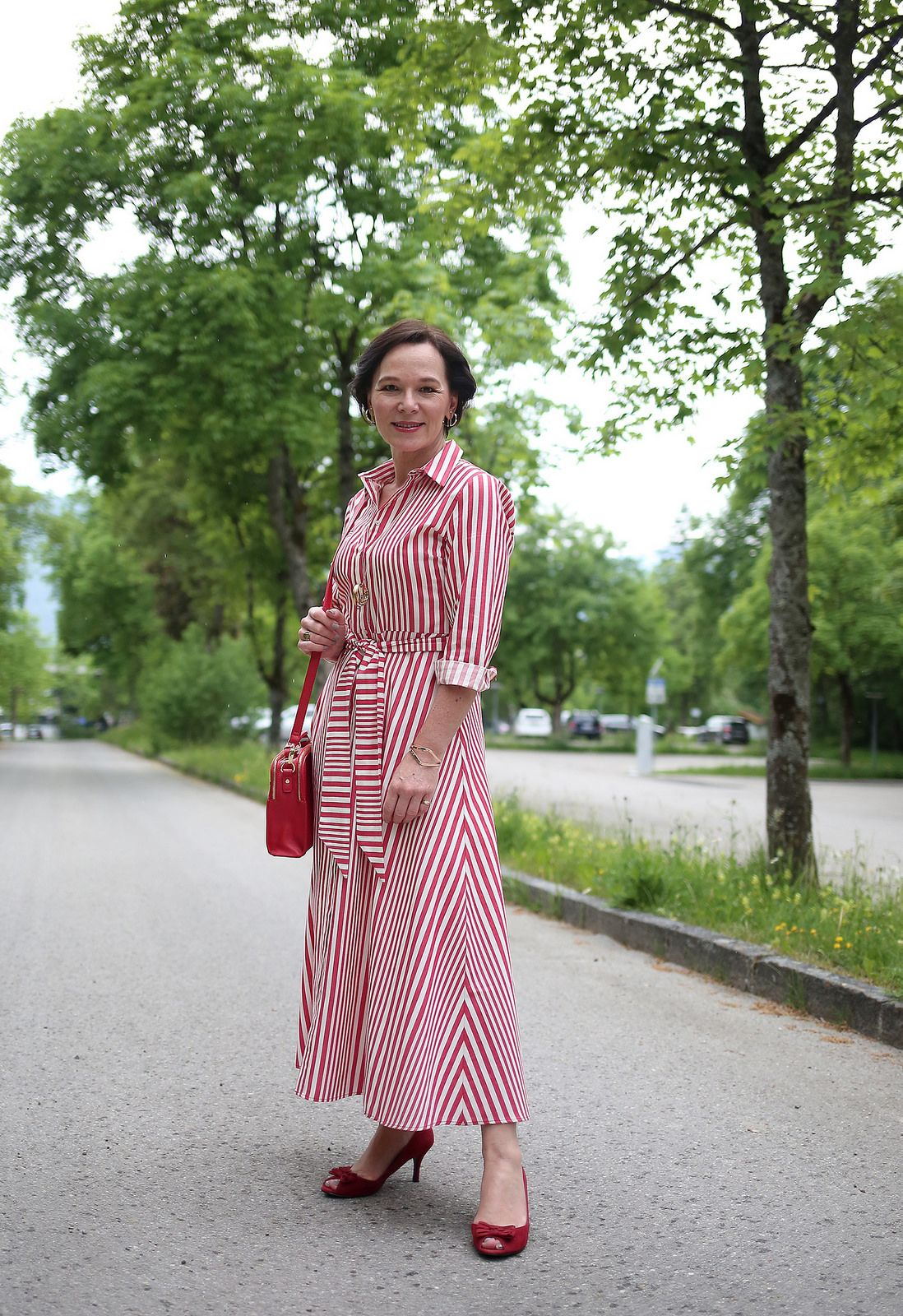 85c82932886 This season s must-have striped shirt-dress from Zara