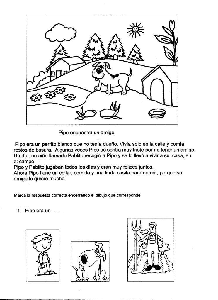 Cuentos Breves Y Fichas Para Ejercitar La Comprensión De Textos Comprensión Lectora Ejercicios Lectura Comprensiva Lectura De Comprensión