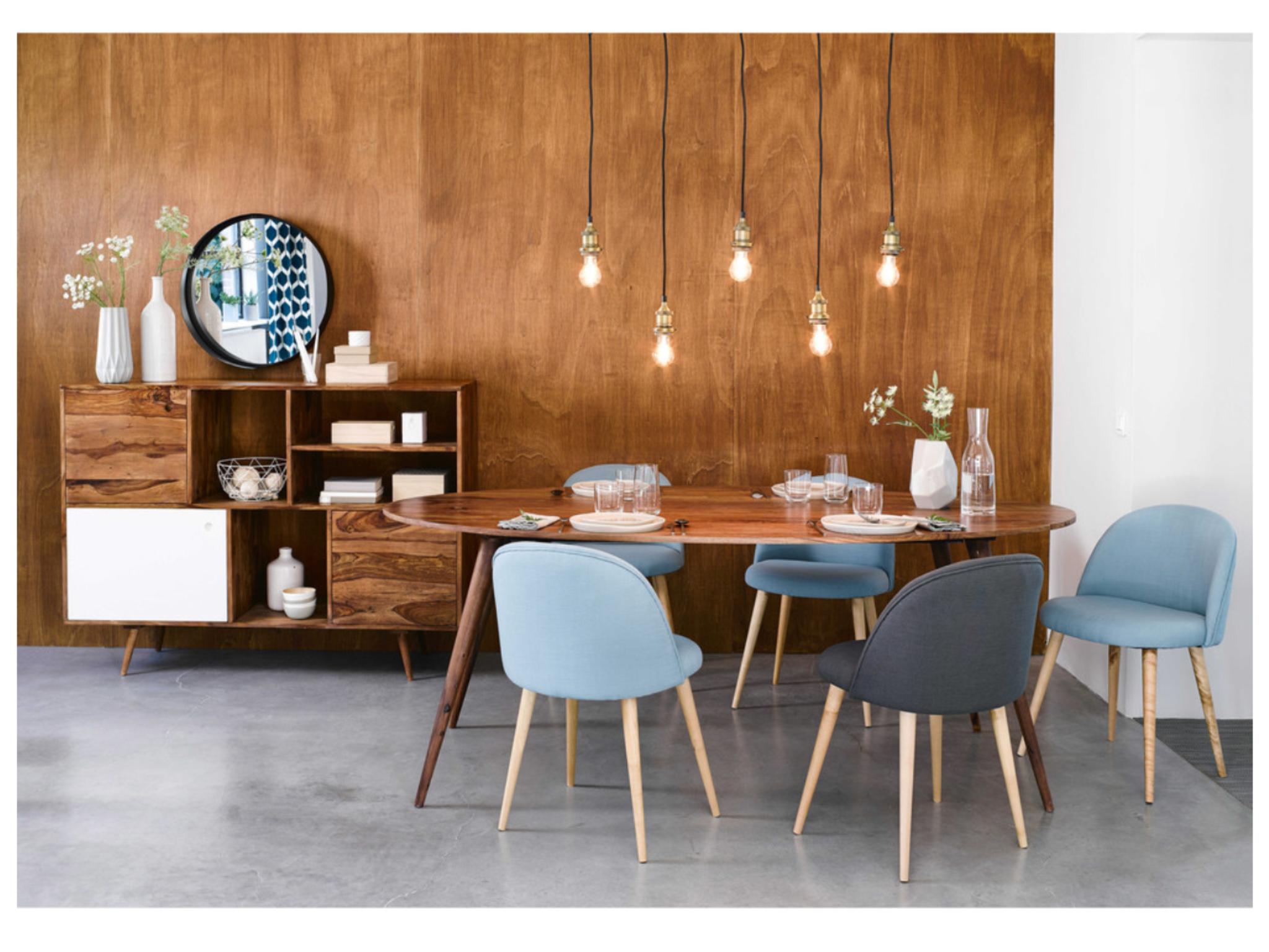chaise mauricette maisons du monde