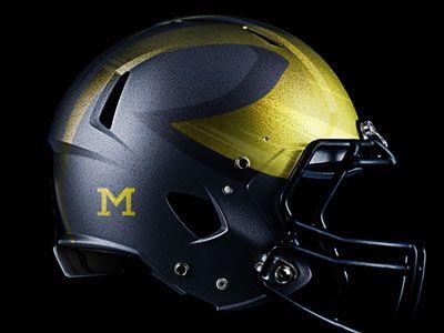 Michigan Wolverines Alternate Helmet Michigan Wolverines Football Michigan Wolverines Wolverines Football