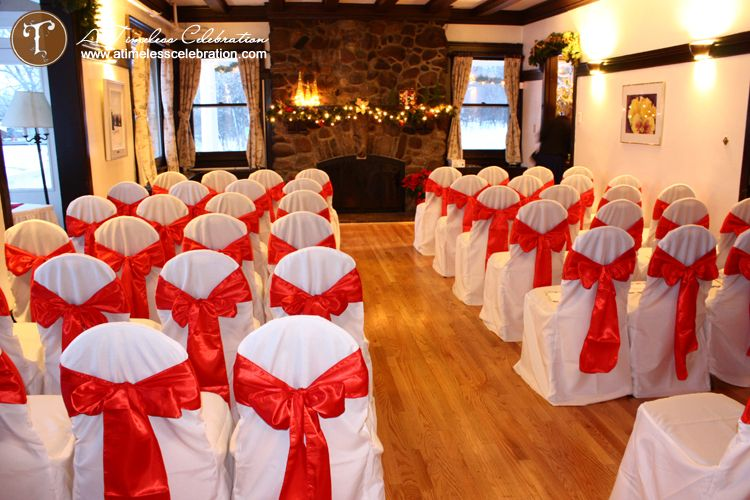 Simple red and white christmas wedding a timeless celebration we have different wedding ceremony decorations available for our brides and grooms choose from our popular packages or let us customize one for you junglespirit Images