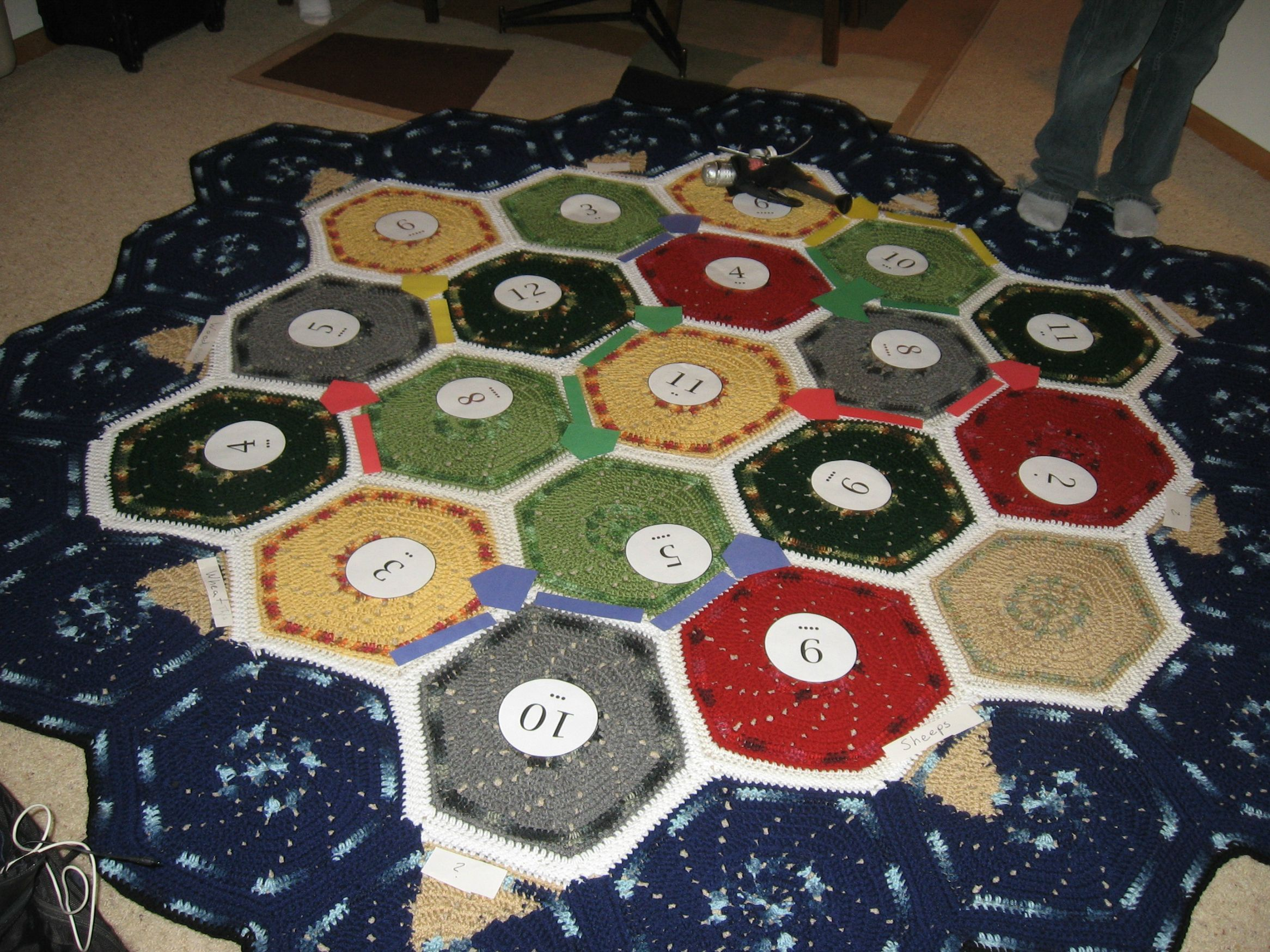 Giant Catan Throw Settlers of catan, Catan, Catan board