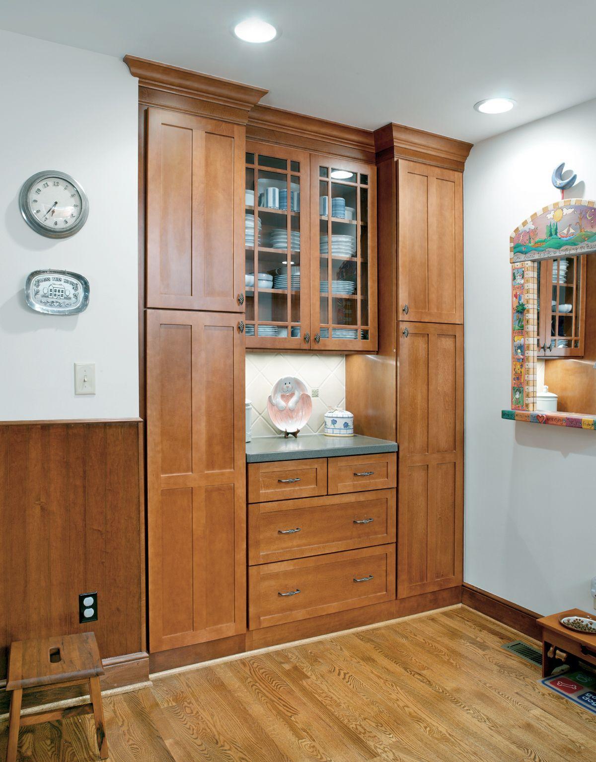 Best Built In Pantry Storage In Kitchen Designed By Monica 640 x 480