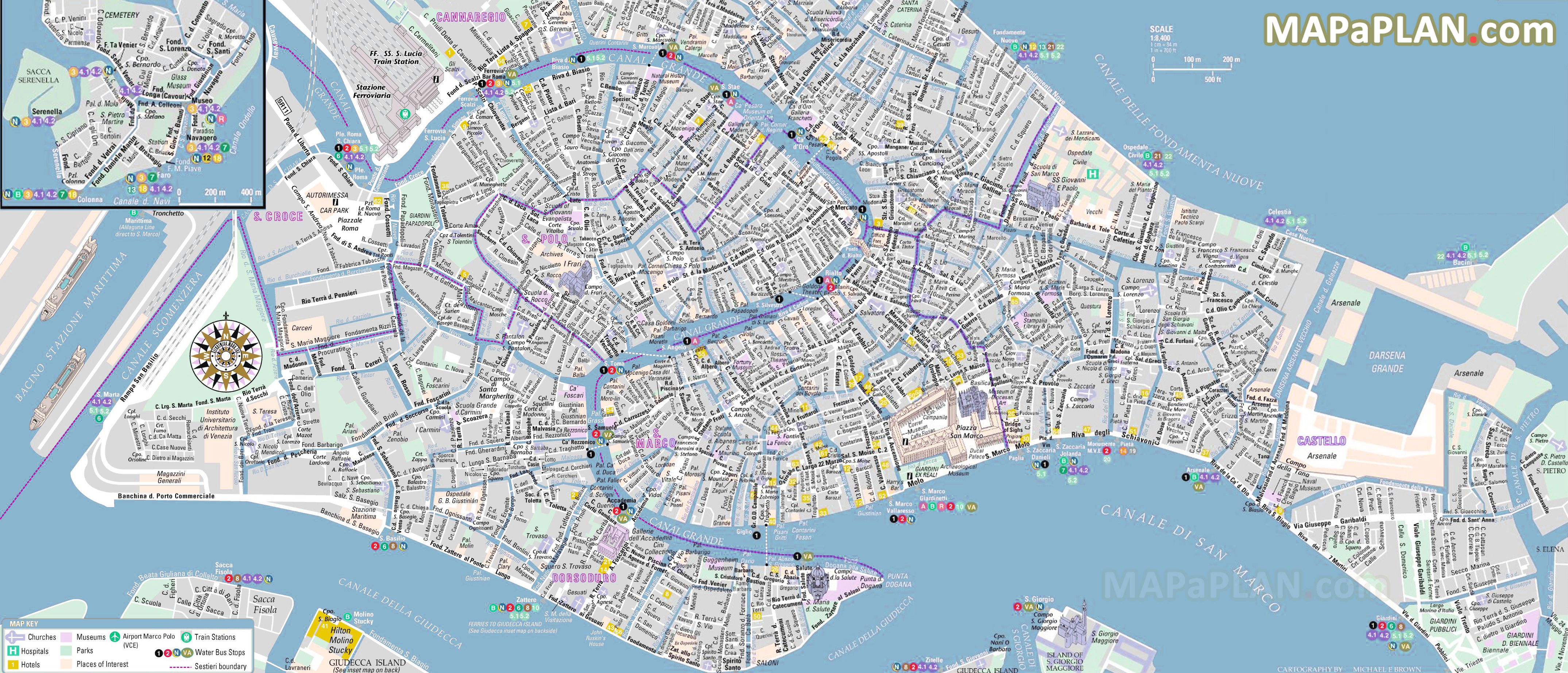 venicetoptouristattractionsmap12Whattodoandwheretogoin