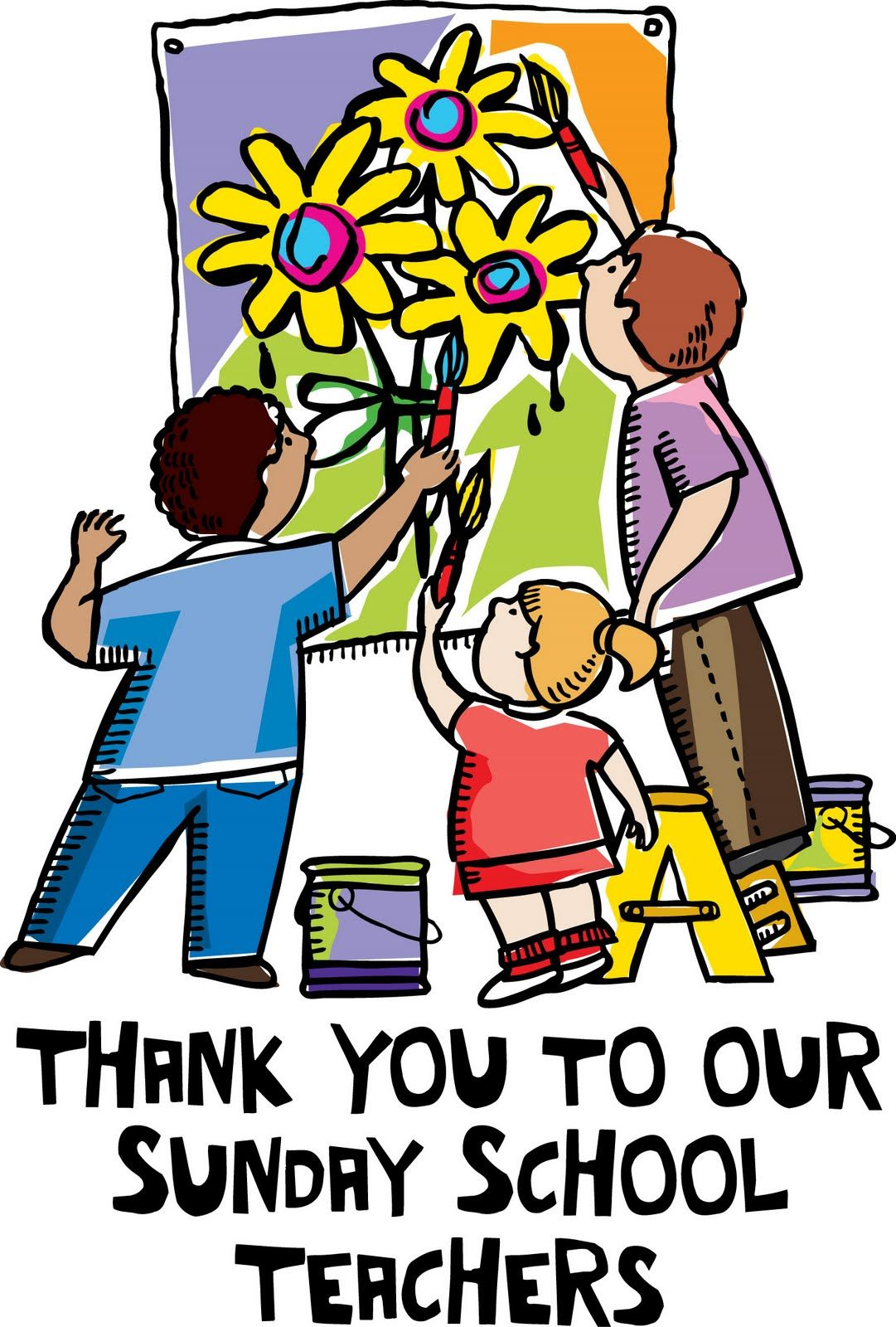 Image result for thank you for teaching sunday school