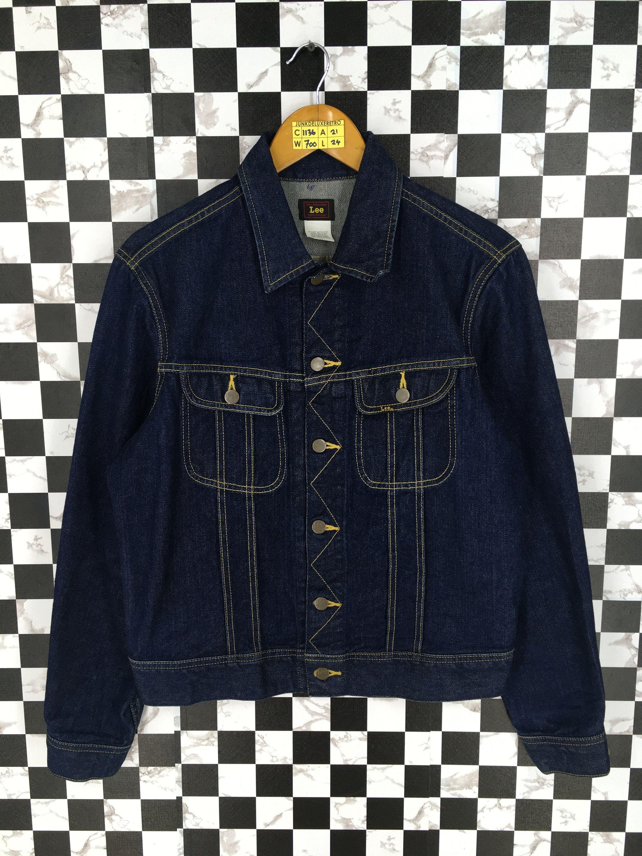 Vintage 80 S Lee Jeans Jacket Trucker Women Medium Vintage Lee Crop Jacket Usa 90 S Lee Jeans Riders Denim Ja Jean Jacket Hoodie Blue Denim Jacket Denim Jacket [ 3000 x 2250 Pixel ]