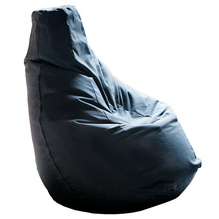 Miraculous Zanotta Sacco Easy Chair In Black By Gatti Paolini Teodoro Machost Co Dining Chair Design Ideas Machostcouk