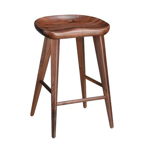 Walnut Bar Stool Rejuvenation Counter Height X6 Entirely Too