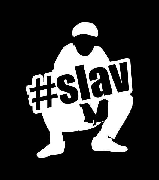 Cool Design With Squating Slav Perfect For All Slavs And Other People Interested In Slavic Culture Slav Cool Designs Slavic Slav Squat