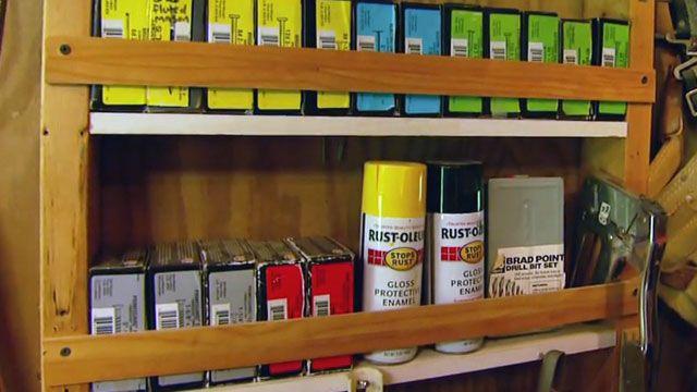Diy Workshop Or Garage Storage Shelves Simple Solutions