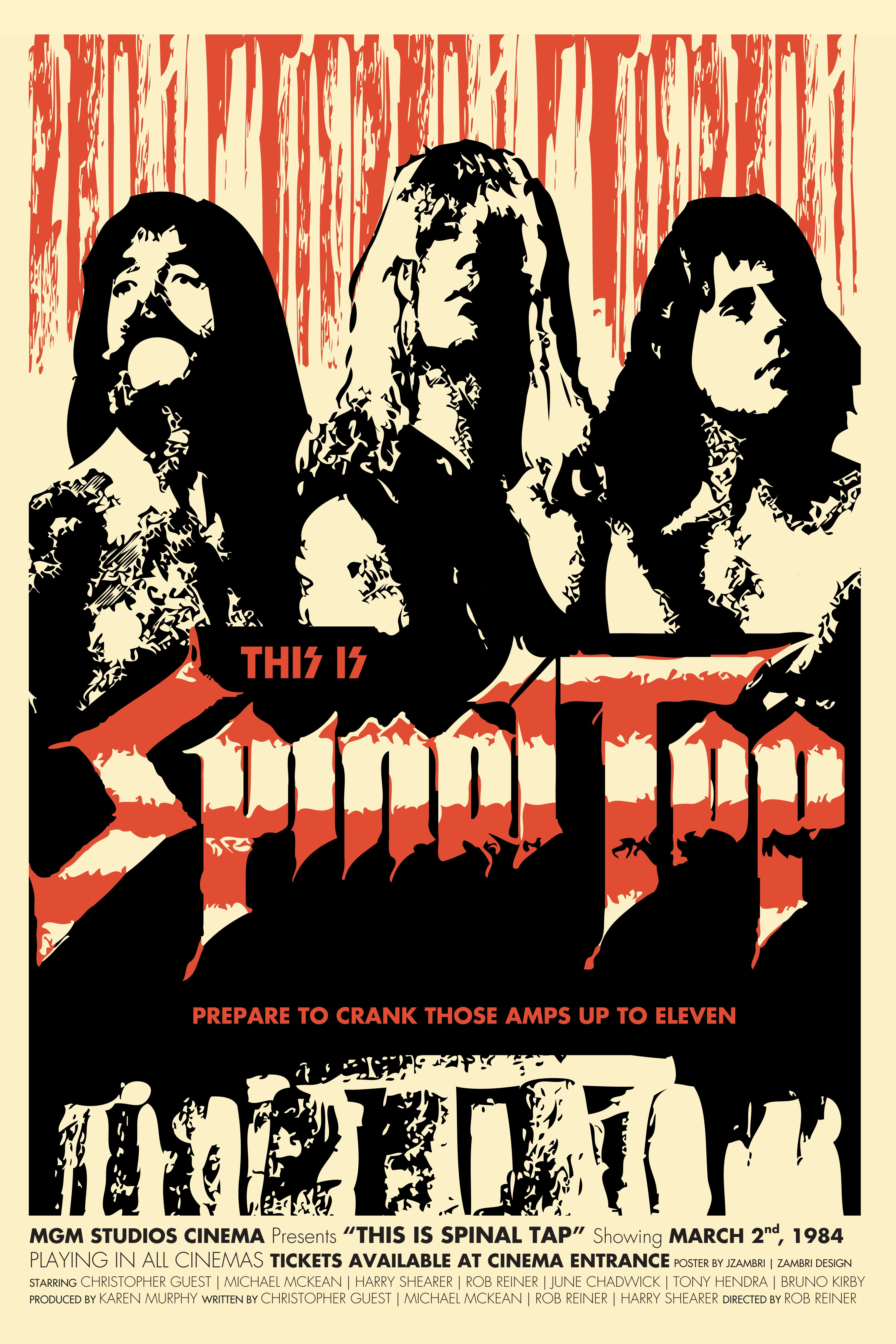 this is spinal tap movie poster movies tv that raised me movie posters film posters poster. Black Bedroom Furniture Sets. Home Design Ideas