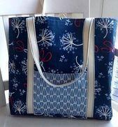 Simple Life Tote Bag Tutorial  Sewn crafts  bag