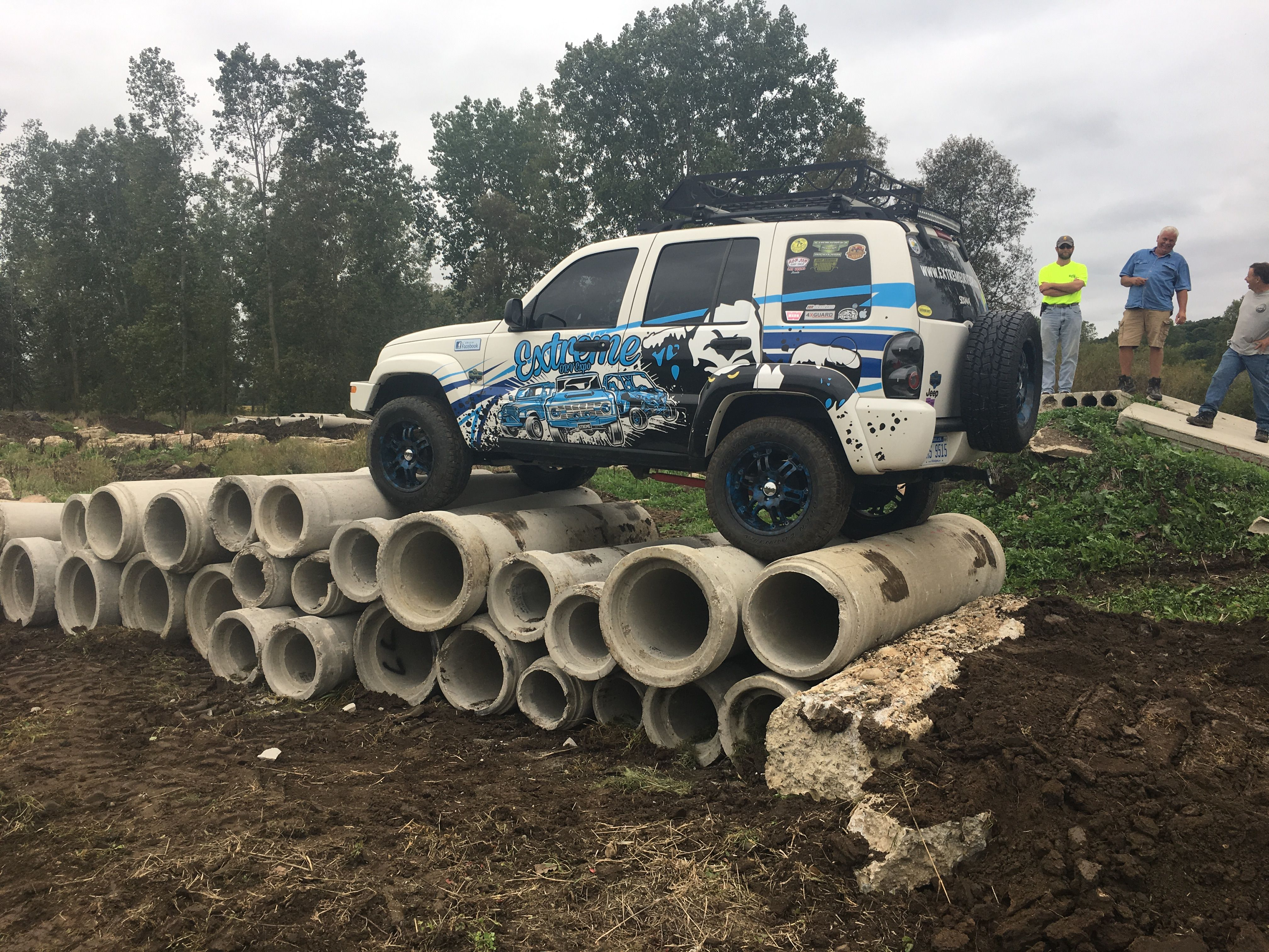 Extreme Orv Expo Liberty Testing Out The Off Road Course At The
