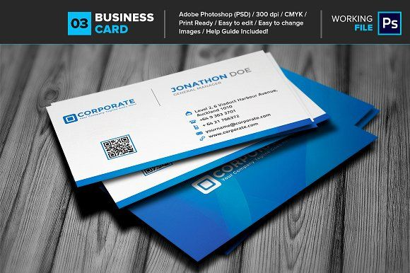 Professional business card 03 business cards layout design and professional business card 03 templates specification layered psd files cmyk color300dpi 35x2 inch help guide included ea by layout design ltd reheart Image collections