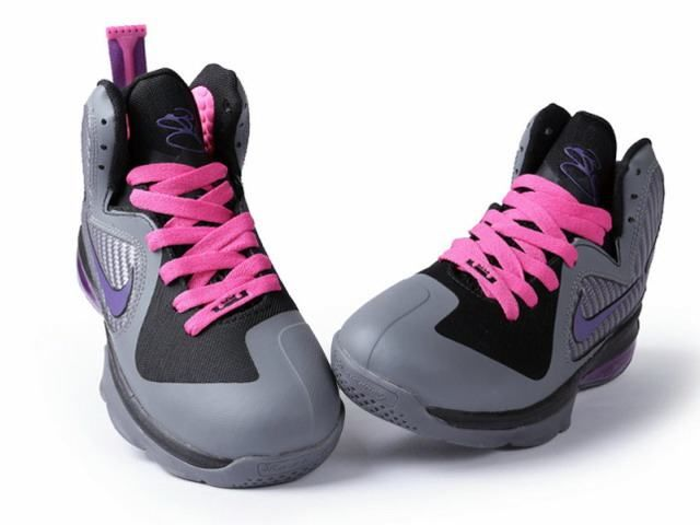 Pink and Purple Basketball Shoes  101217a49