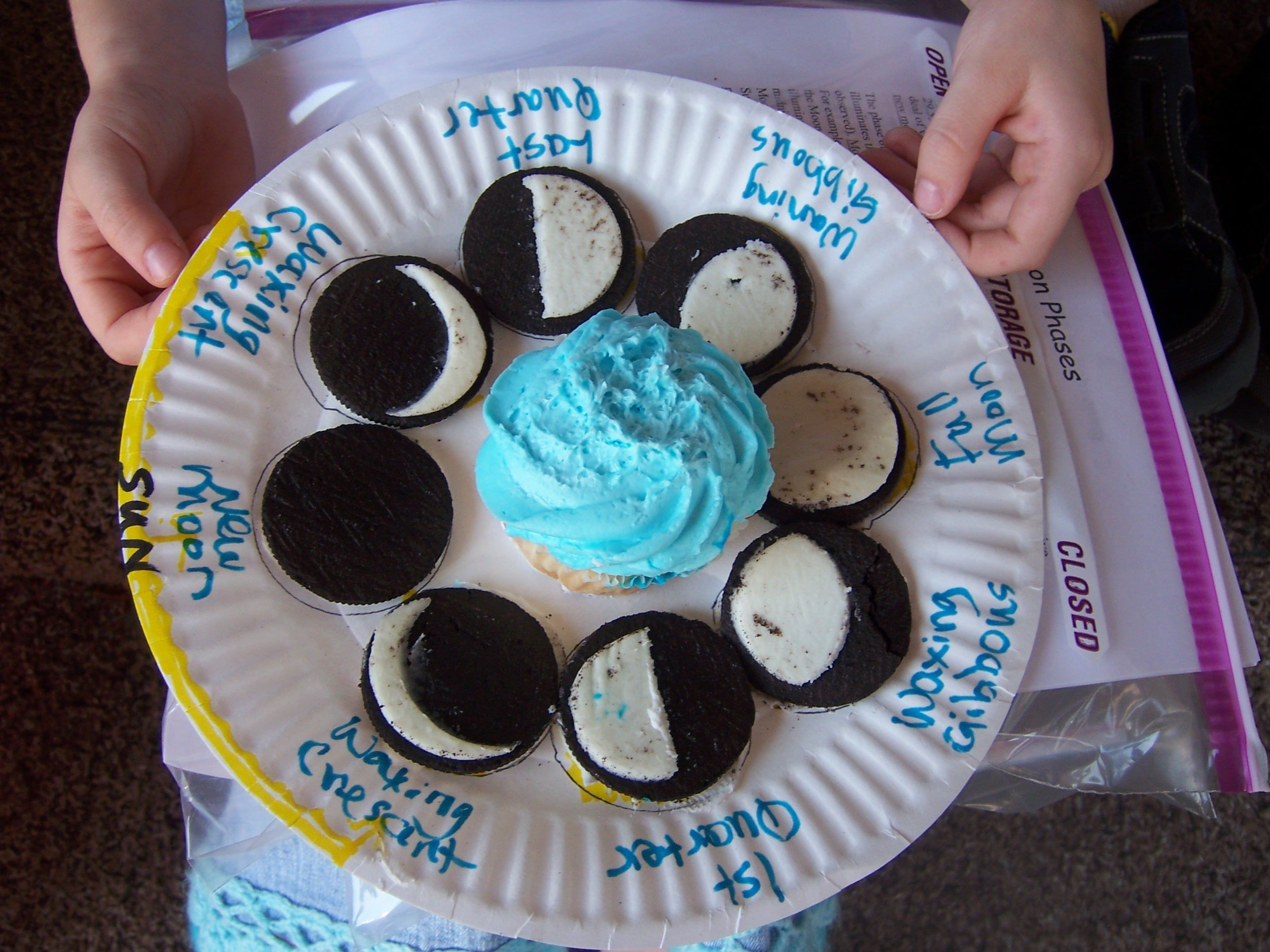 19 kitchen science experiments you can eat moon phases ocean this is just a fun activity to do when teaching about the moon phases kids absolutely love food and sweets so they would definently remember the moon pooptronica Gallery