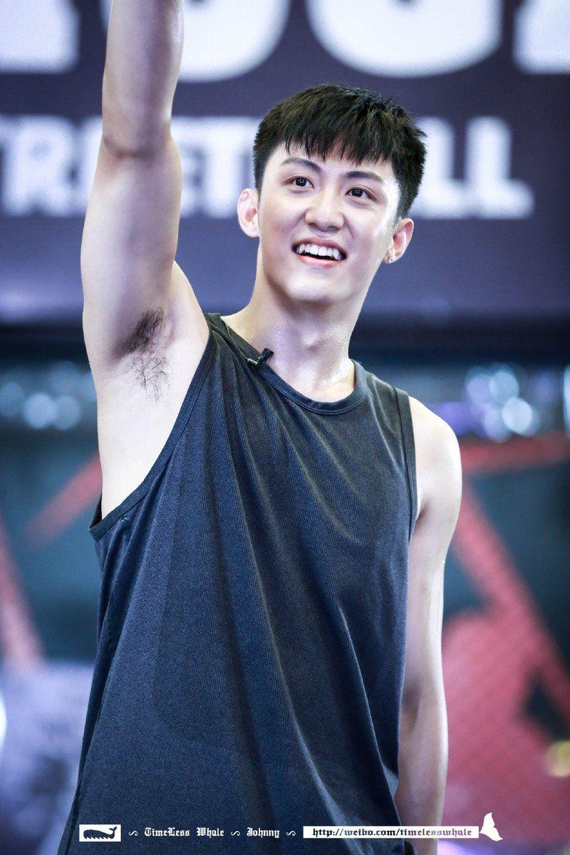 Huang Jingyu Armpit Selebritas