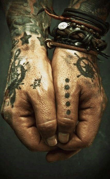 Captain Jack Sparrow Pirate Hand Tattoo Tattoos Hand