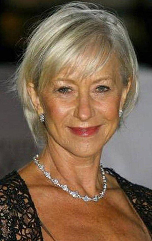 Frisuren Fur Feines Haar Ab 50 Helle Haarfarbe 2019