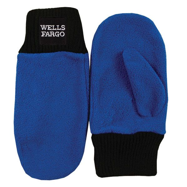 Embroidered Fleece Mittens Mittens Fashion Gloves