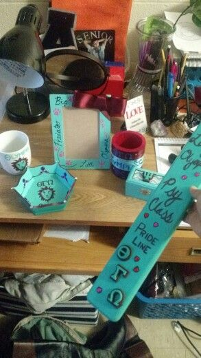 All wonderful gifts from my amazing Big!! Love you!!!!