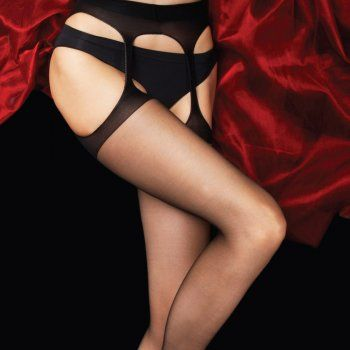 Charnos Boudoir Smooth Bodyfree Suspender Tights At Stockings HQ
