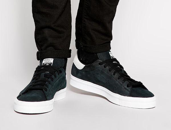 Adidas Stan Smith Vulc White Black Nubuck