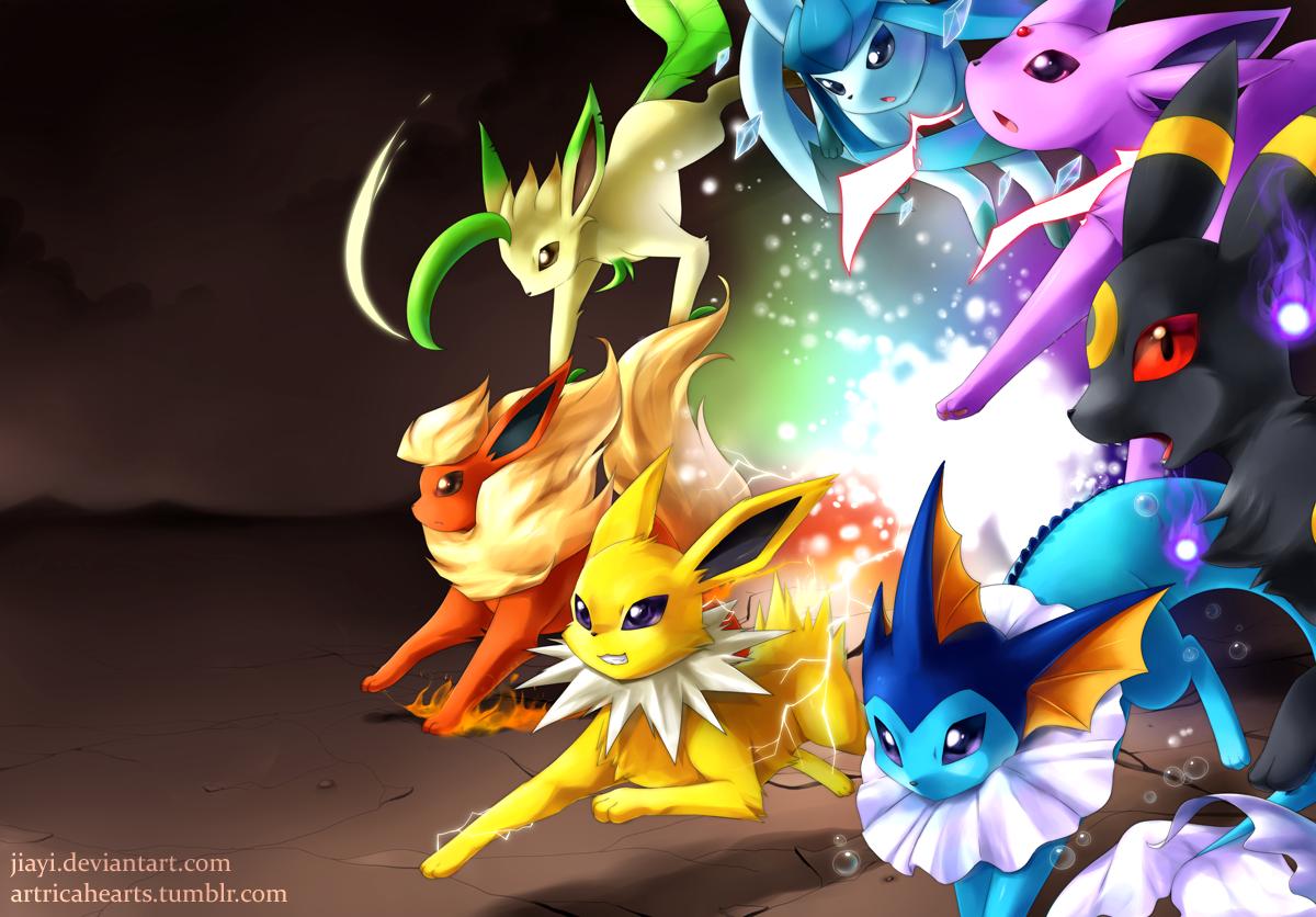 Evolution Eevee Evolutions All Eevee Evolutions Pokemon
